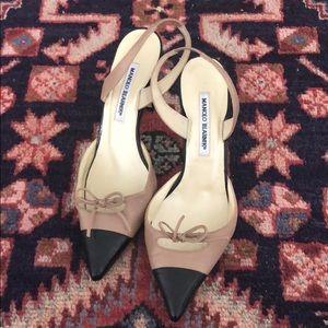 Manolo Blahnik Slingback Heels